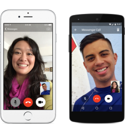 Videotelefonie in Facebook Messenger (Bild: Facebook)