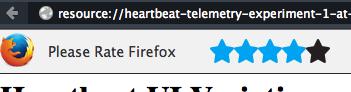 Firefox Heartbeat (Bild: Mozilla)