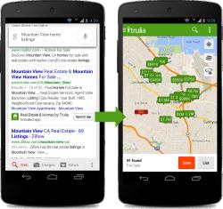 Google_Suche verweist auf App-Inhalte (Bild: Google)