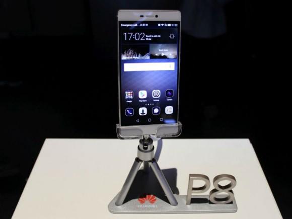 Das Huawei P8 wird ab Mai zu Preisen ab 499 Euro in Deutschland in den Handel kommen (Bild: CNET).