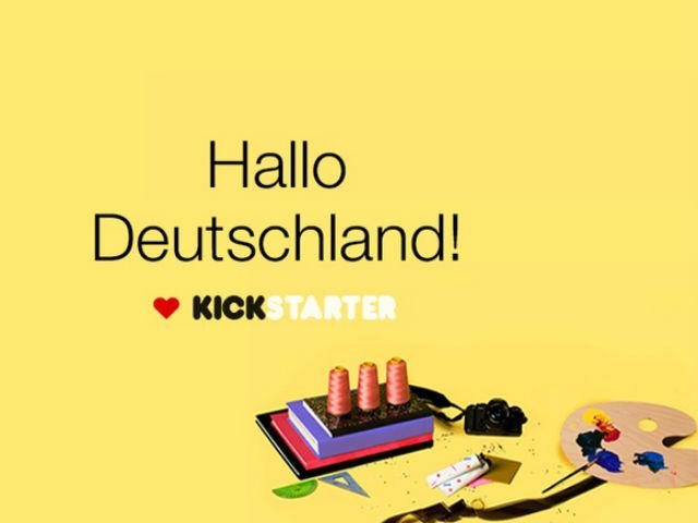 Kickstarter startet in Deutschland (Bild: Kickstarter).