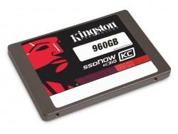 Die SSDNow KC310 bietet 960 GByte Speicherplatz (Bild: Kingston).
