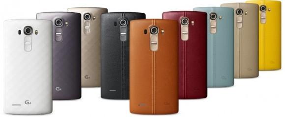 LG G4: alle Farben (Bild: LG)