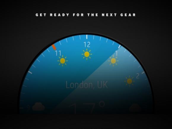 Samsung hat eine runde Smartwatch angekündigt (Bild: Samsung).