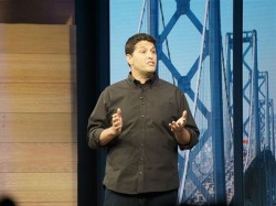 Terry Myerson auf der Build 2015 in San Francisco (Bild: Nate Ralph/CNET)
