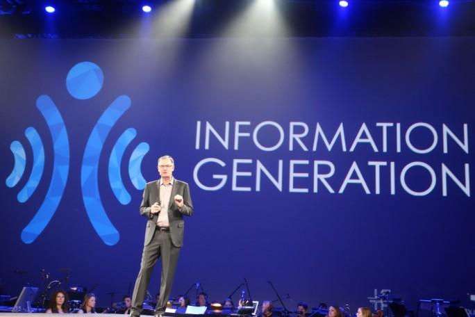 """""""Wir alle sind die Information Generation"""", ist David Goulden, CEO EMC Information Infrastructure der EMC Coprooration, überzeugt (Bild: Ariane Rüdiger)"""