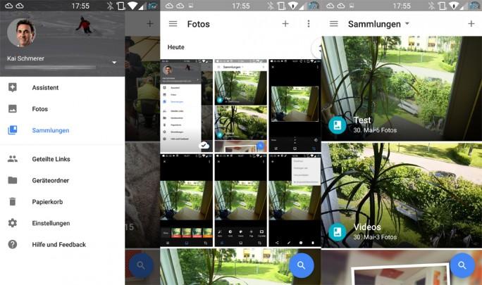 Google-Fotos-Ubersicht (Bild: ZDNet.de)
