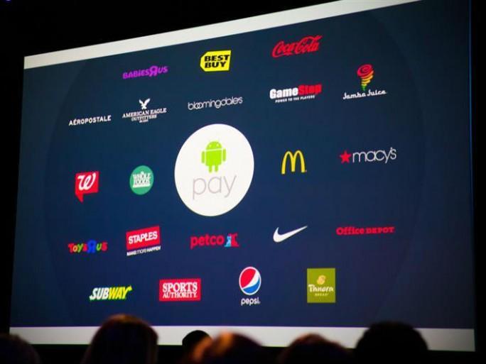 Google hat auf der I/O 2015 Partner für Android Pay vorgestellt (Bild: James Martin/CNET).
