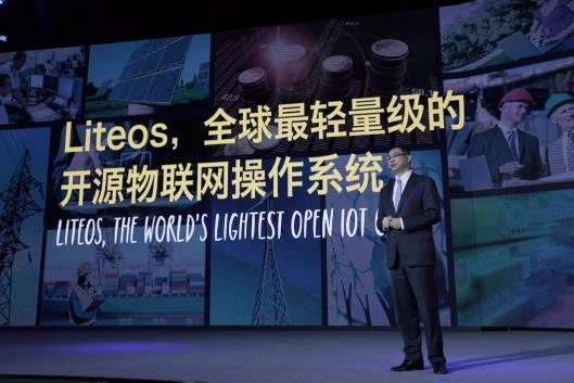 CSMO William Xu stellt LiteOS vor (Bild: Huawei).