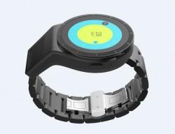 Wirkt noch etwas klobig: Dual-Screen-Smartwatch von Lenovo (Bild: Lenovo)