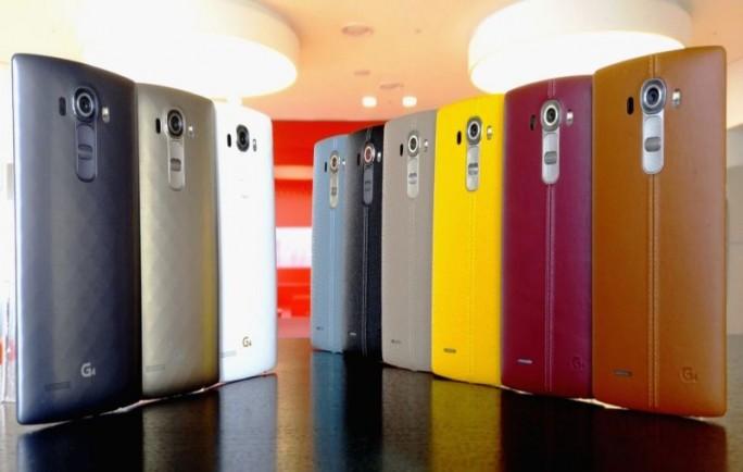 In Deutschland werden nicht alle Farbvarianten des LG G4 erhältlich sein (Bild: LG).