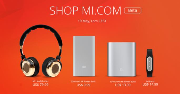 Xiaomi beginnt am 19. Mai mit dem Direktverkauf außerhalb Chinas (Bild: Xiaomi).