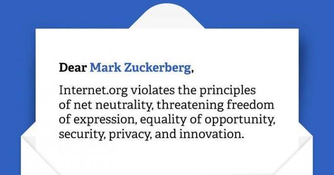 Datenschützer fordern Respekt für die Netzneutralität von Mark Zuckerberg (Bild: Digitale Gesellschaft).