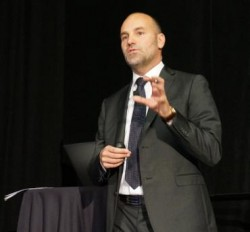 Mark Shuttleworth beim OpenStack Summit (Bild: ZDNet.com)