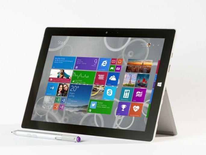 Das Surface 3 ist ab sofort erhältlich (Bild: Microsoft).