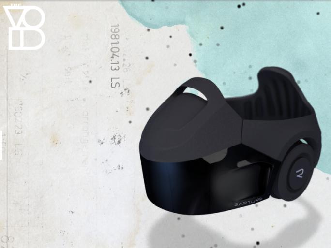 """Besucher erkunden virtuelle Welten in The Void unter anderem mit der Virtual-Reality-Brille """"Rapture"""" (Bild: The Void)."""