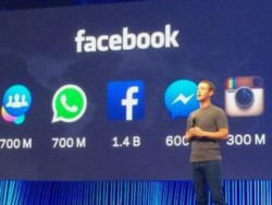 Facebook-CEO Mark Zuckerberg präsentiert Produkte (Bild: Claudia Cruz / CNET)