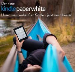 Der neue Kindle Paperwhite kostet 20,09 Euro mehr als der alte (Bild: Amazon).