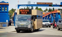 Amazon-Laster Treasure Truck unterwegs in Seattle (Bild: Amazon.com)