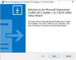Mit dem MDT 2013 Update 1 lassen sich auch Bereitstellungen für Windows 10 durchführen (Screenshot: Thomas Joos).