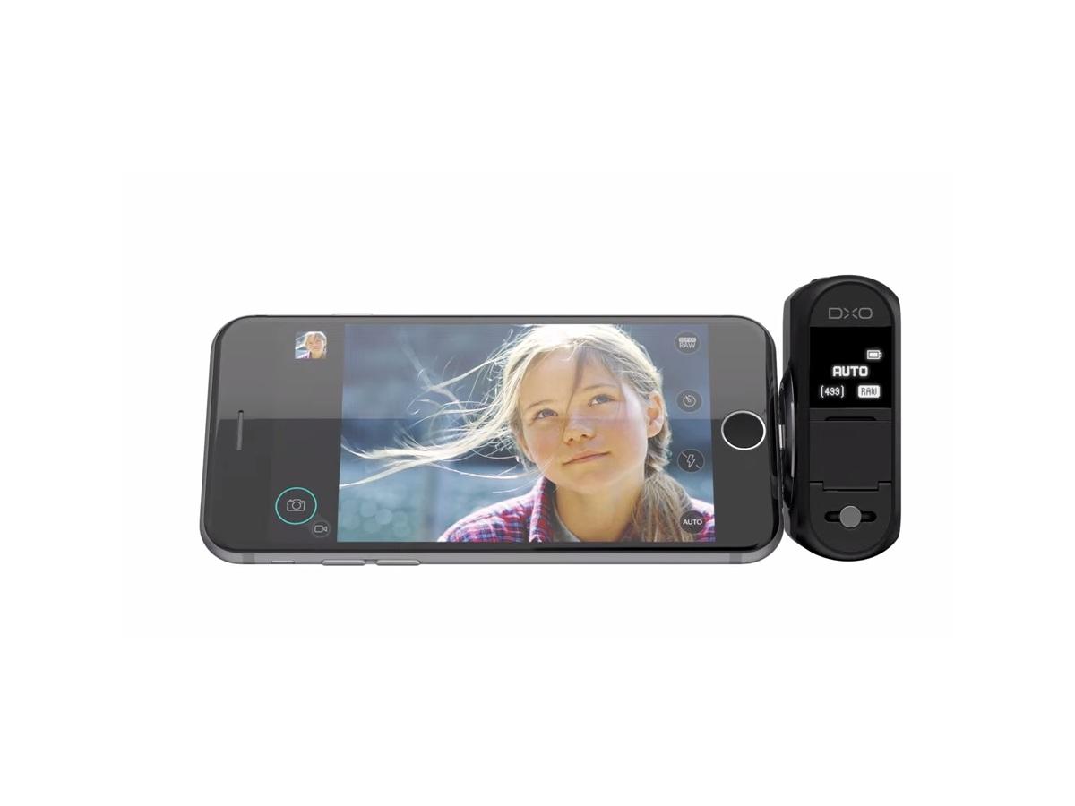 DxO baut externe iPhone-Kamera für Lightning-Port