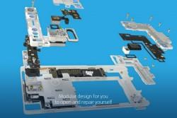 Das Fairphone 2 ist modular aufgebaut und mit einem Standard-Schraubendreher zu öffnen (Bild: Fairphone).