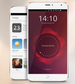 Ubuntu-Smartphone MX4 (Bild: Meizu)