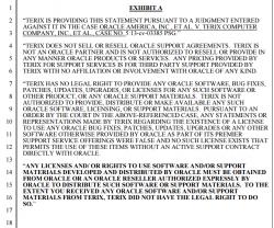 Von Terix seinen Kunden gegenüber abzugebende Erklärung (Screenshot: ZDNet.com)