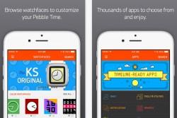 iPhone-App für Pebble Time (Bild: iTunes)