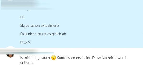 Skype-Fehler (Screenshot: ZDNet.de)