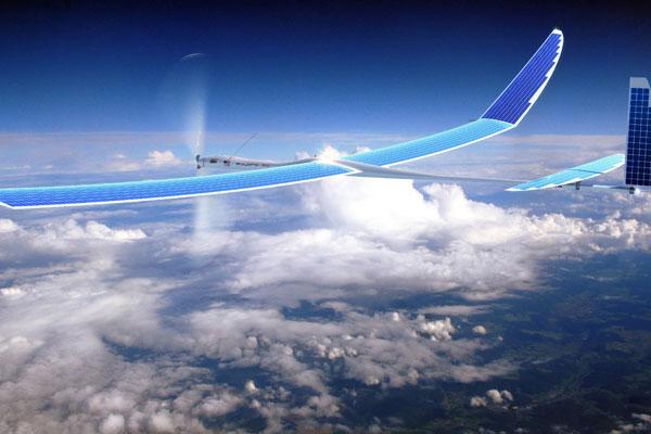 Solara 50 Drohne (Bild: Titan Aerospace)