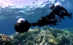 Street-View-Kamera im Unterwasser-Einsatz (Bild: Google)