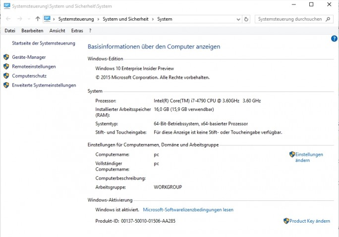 Die Aktivierung des Betriebssystems kann im Explorer überprüft werden (Screenshot: Thomas Joos).