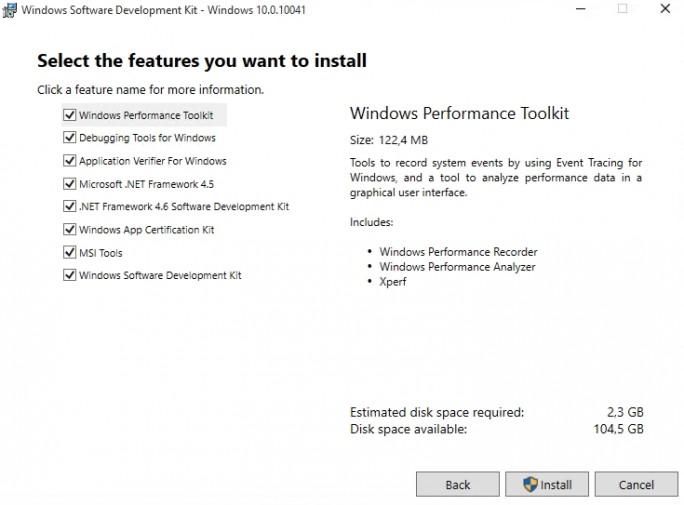 Mit dem Windows 10 Software Development Kit können Entwickler bereits jetzt ihre Anwendungen für Windows 10 vorbereiten (Screenshot: Thomas Joos).