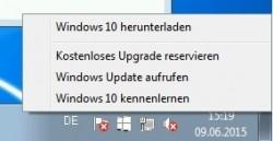 Nach der Installation von Updates, erscheint in Windows 7/8/8.1 der Hinweis auf eine verfügbare Aktualisierung (Screenshot: Thomas Joos).