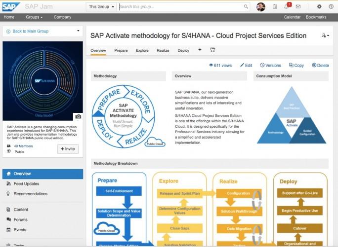 SAP-Activate-JAM (Bild: SCN)