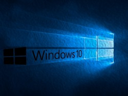 Windows-10-Logo: Schrift schwarz (Bild: ZDNet.de)