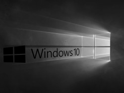 Windows-10-Logo: s/w (Bild: ZDNet.de)