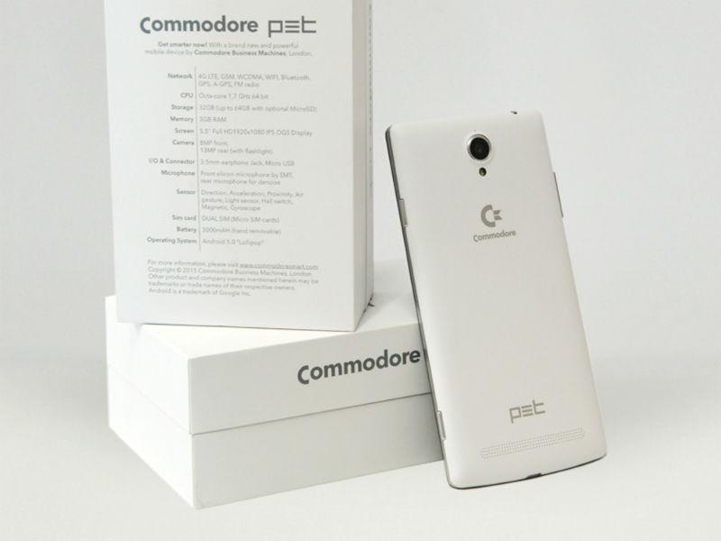 Commodore-Smartphone mit C64- und Amiga-Emulator angekündigt