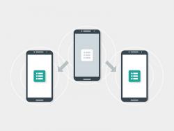 Die Nearby-API soll den Datenaustausch mit anderen Geräten in unmittelbarer Umgebung erleichtern (Bild: Google).