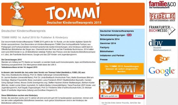 Die Medienpartnerschaft am Deutschen Kindersoftwarepreis ist das ZDF-Feigenblatt in Bezug auf IT-Bildung (Screenshot: ZDnet)