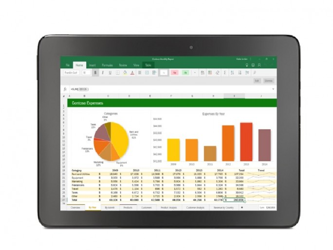Office Mobile Apps (Bild: Microsoft)