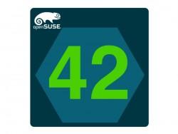 Die nächste reguläre OpenSUSE-Version trägt die Nummer 42 (Bild: OpenSUSE).