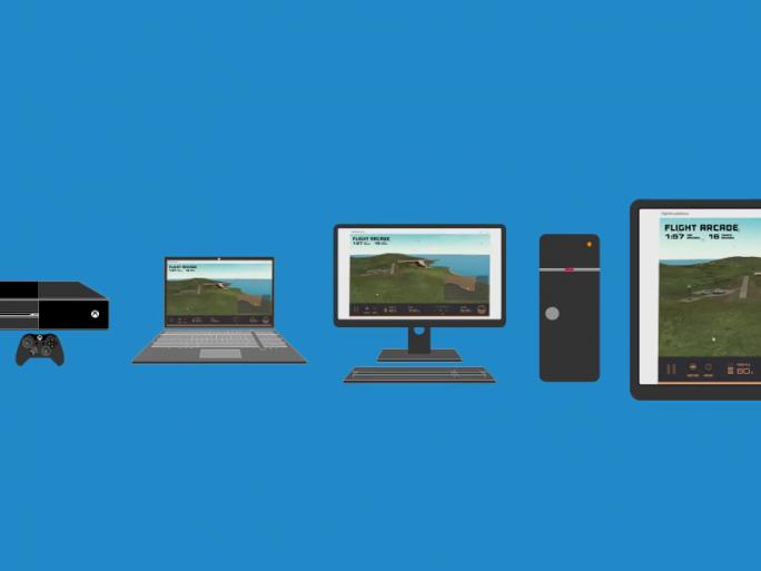 Hosted Web Apps sind auf einer breiten Palette von Windows-10-Geräten lauffähig (Bild: Microsoft).