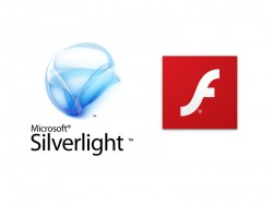 Silverlight und Flash (Bild: Microsoft/Adobe).