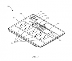 Smart Cover mit eingebauter Anzeige (Bild: Apple, via USPTO)