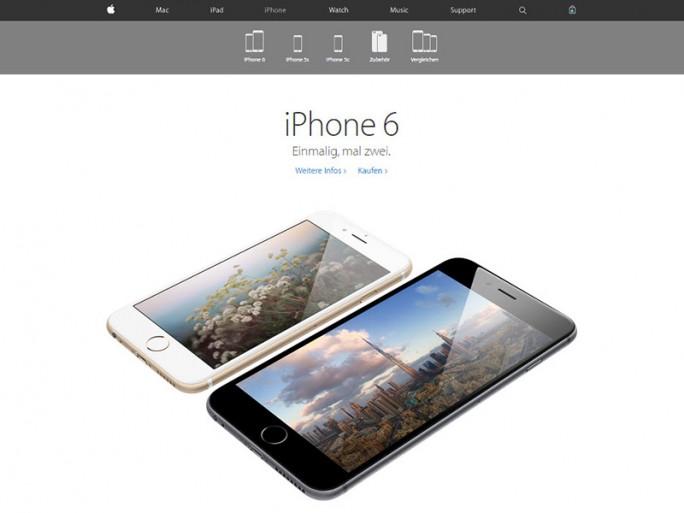 Im neuen Apple-Store gibt es keinen eigenen Store-Tab mehr (Screenshot: CNET.de)