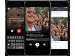 Facebook Live steckt in der Promi-App Mentions (Bild: Facebook)