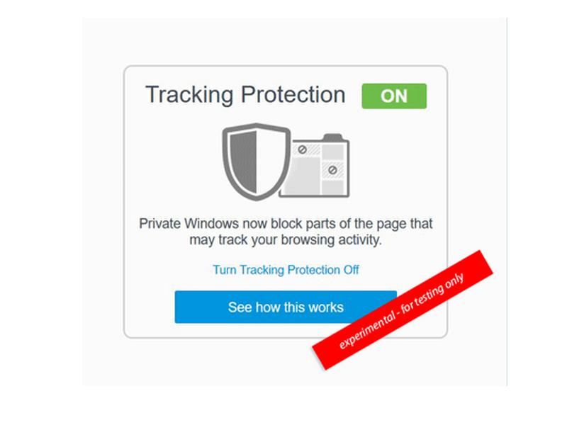 Tracking Schutz Firefox
