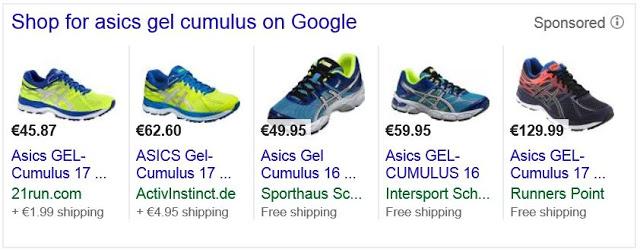 Google Shopping Unit (Screenshot: Google)